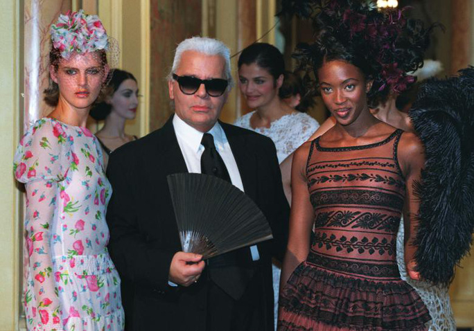 Những khoảnh khắc đáng nhớ của bố già thời trang Karl Lagerfeld - Ảnh 5.