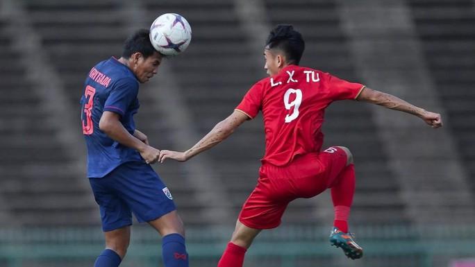 Clip: Trọng tài 2 lần lơ thẻ đỏ, U22 Thái Lan hòa may mắn U22 Việt Nam - Ảnh 4.