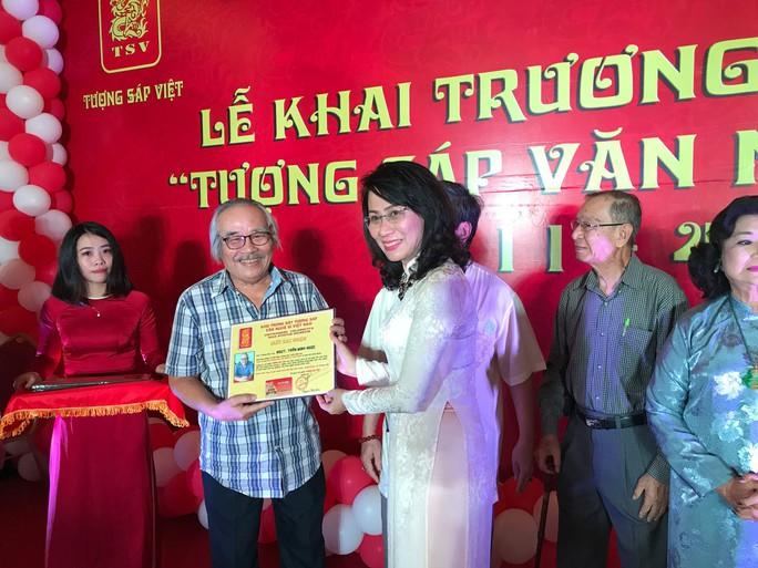 Nghệ sĩ kể chuyện về nữ Phó Chủ tịch UBND TP HCM Nguyễn Thị Thu - Ảnh 1.