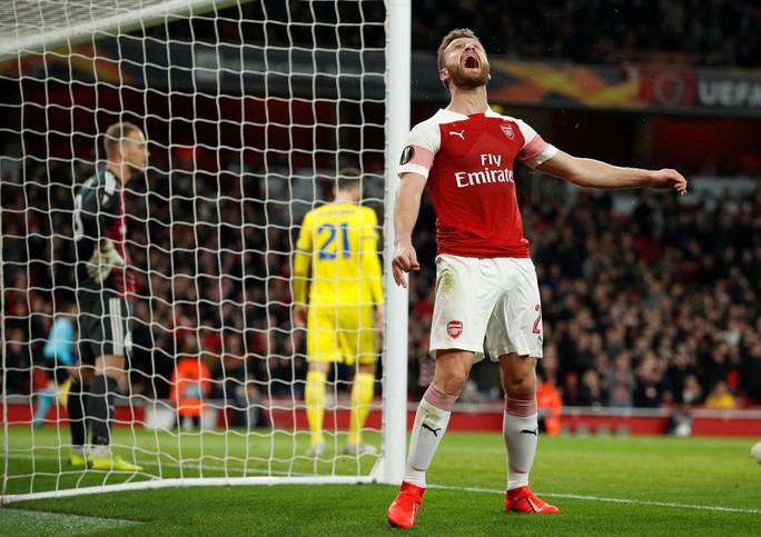 Arsenal ngược dòng, Chelsea bùng nổ ở Europa League - Ảnh 4.