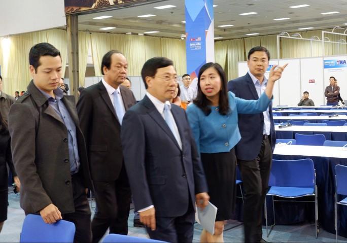 Trung tâm báo chí quốc tế hội nghị thượng đỉnh Mỹ-Triều hoạt động 24/24 giờ - Ảnh 2.