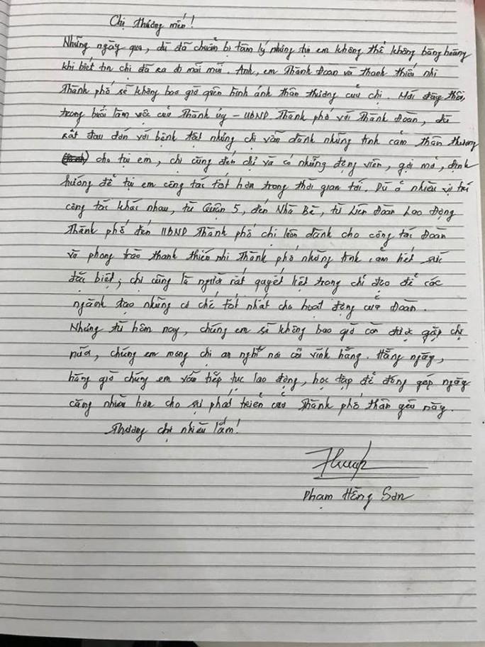Xúc động tiễn biệt Phó Chủ tịch UBND TP HCM Nguyễn Thị Thu - Ảnh 1.