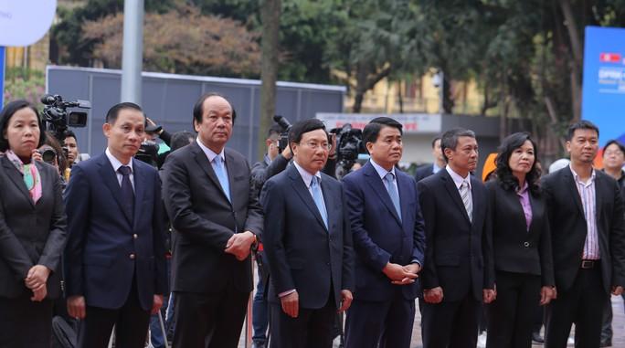 Trung tâm báo chí quốc tế hội nghị thượng đỉnh Mỹ-Triều hoạt động 24/24 giờ - Ảnh 7.