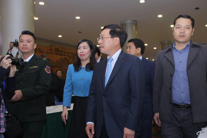 Trung tâm báo chí quốc tế hội nghị thượng đỉnh Mỹ-Triều hoạt động 24/24 giờ - Ảnh 13.