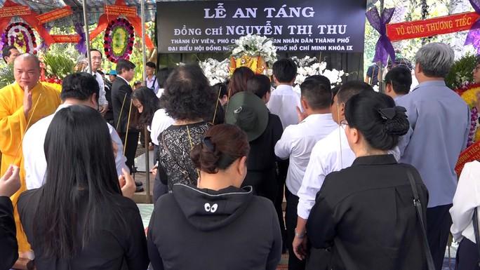 Phó Chủ tịch UBND TP HCM Nguyễn Thị Thu đã yên nghỉ nơi quê nhà - Ảnh 4.