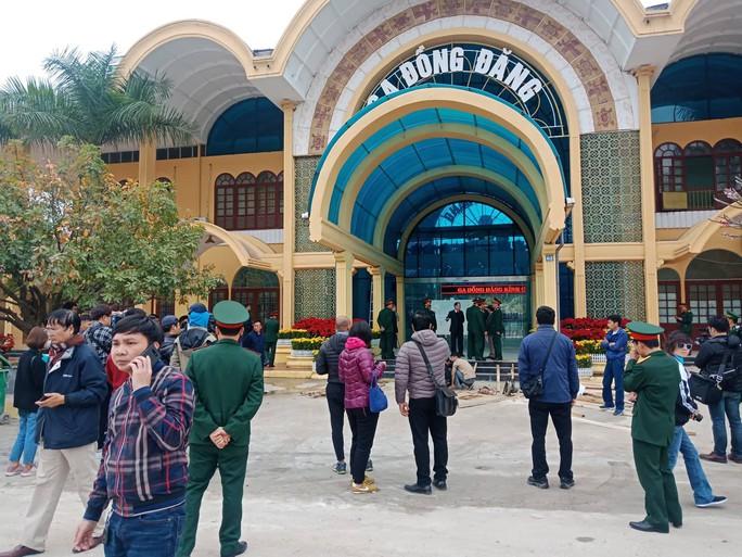 An ninh thắt chặt, hàng chục phóng viên quốc tế có mặt tại Ga Đồng Đăng trước hội nghị Thượng đỉnh - Ảnh 13.