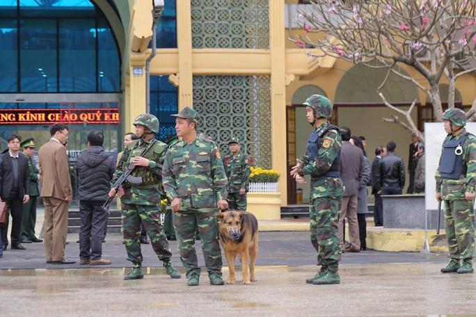 Nhiều lớp an ninh thắt chặt tối đa ở ga Đồng Đăng trước Thượng đỉnh Mỹ-Triều - Ảnh 1.