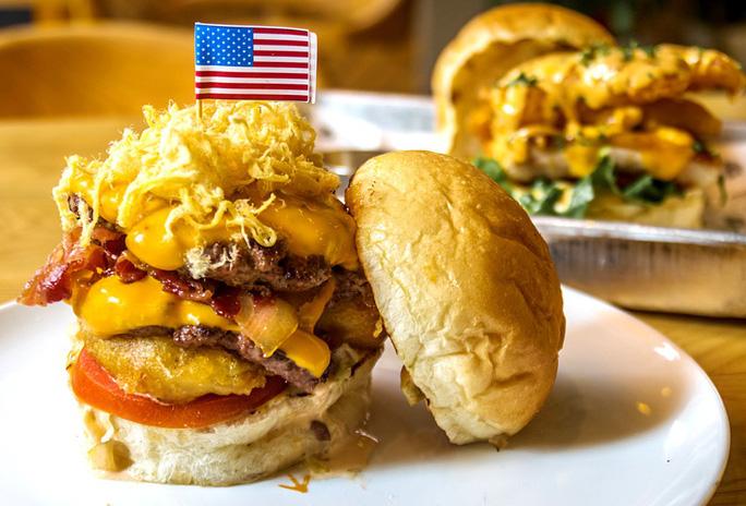 200.000 đồng cho chiếc burger Durty Donald dịp Hội nghị Thượng đỉnh Mỹ-Triều - Ảnh 1.