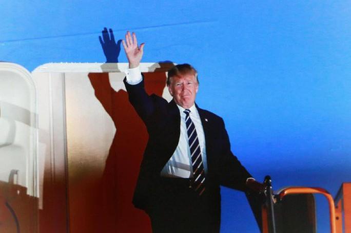 Tổng thống Donald Trump tới Hà Nội vào ngày mai 26-2 - Ảnh 1.
