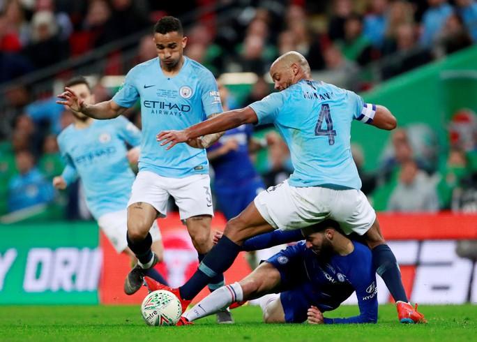 Nghẹt thở đá luân lưu, Man City bảo vệ thành công League Cup - Ảnh 3.
