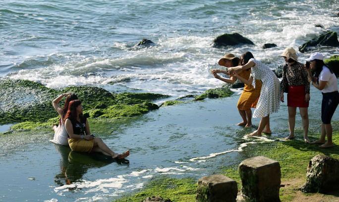 Ngắm bãi rêu xanh tuyệt đẹp hút khách ở Nha Trang - Ảnh 9.