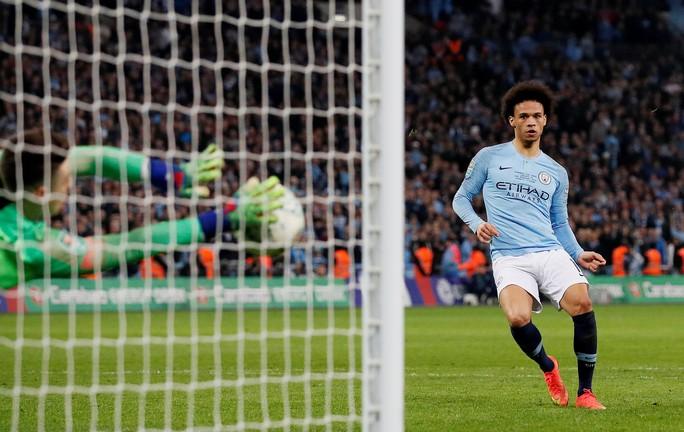 Nghẹt thở đá luân lưu, Man City bảo vệ thành công League Cup - Ảnh 8.