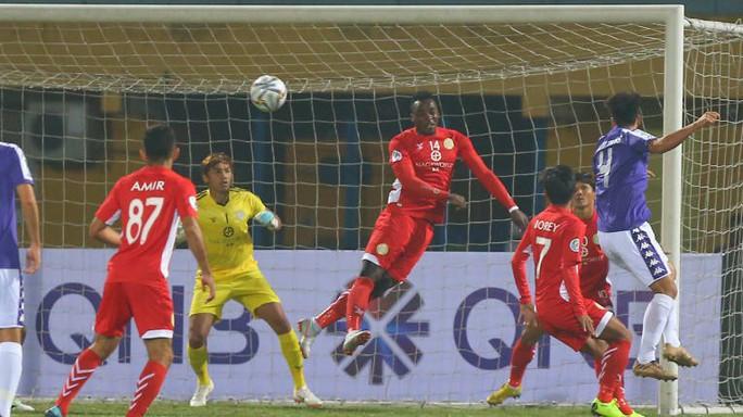 Hà Nội FC ghi 10 bàn vào lưới đội bóng của Campuchia - Ảnh 1.