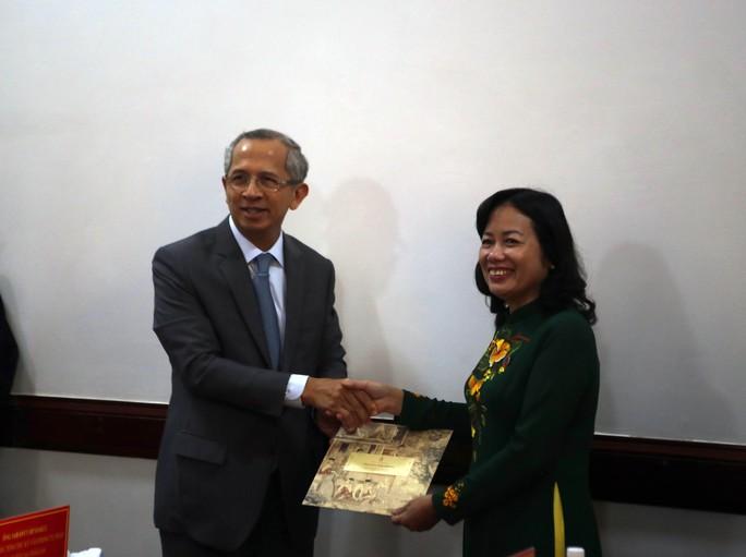 Tòa án Tối cao Vương quốc Thái Lan làm việc với TAND TP HCM - Ảnh 1.