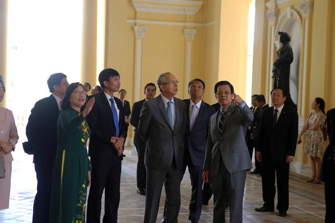 Tòa án Tối cao Vương quốc Thái Lan làm việc với TAND TP HCM - Ảnh 2.