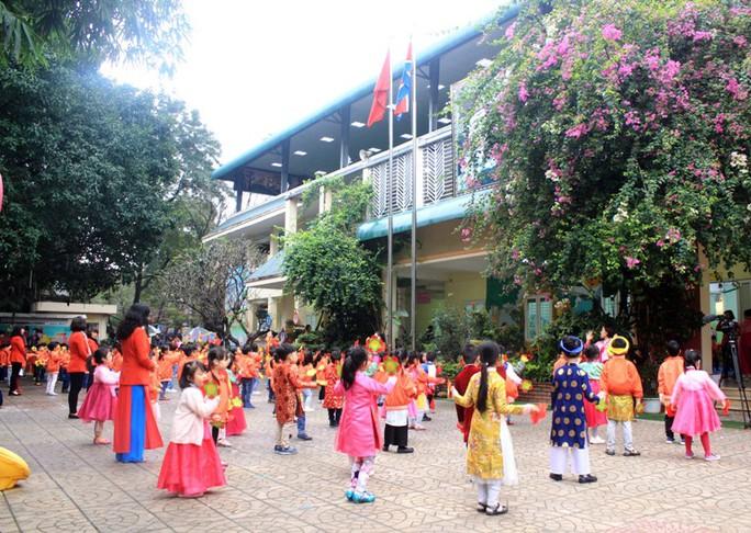 Trường mẫu giáo Việt-Triều náo nức trước chuyến thăm của Chủ tịch Kim Jong-un - Ảnh 4.