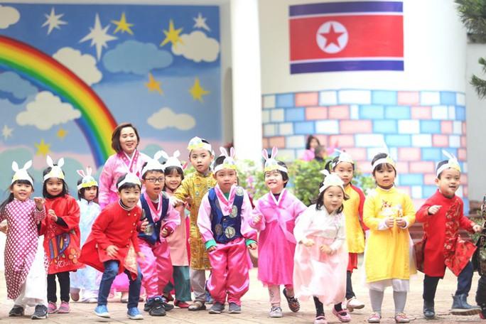 Trường mẫu giáo Việt-Triều náo nức trước chuyến thăm của Chủ tịch Kim Jong-un - Ảnh 3.