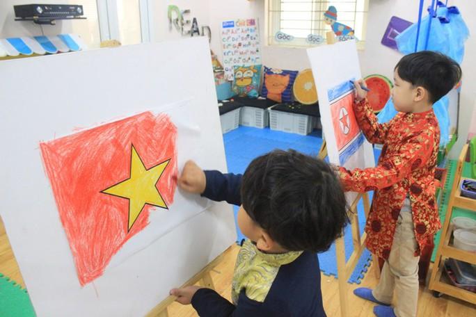 Trường mẫu giáo Việt-Triều náo nức trước chuyến thăm của Chủ tịch Kim Jong-un - Ảnh 2.