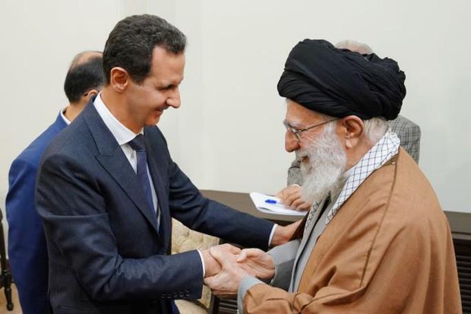 Tiếp tổng thống Syria, Iran nhấn mạnh ngón đòn dữ dội - Ảnh 1.