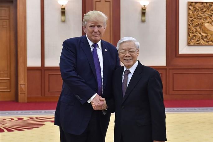Hôm nay 27-2, Tổng thống Donald Trump gặp lãnh đạo Việt Nam - Ảnh 1.