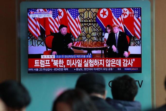 Tổng thống Trump về nước, Triều Tiên vẫn im lặng - Ảnh 1.