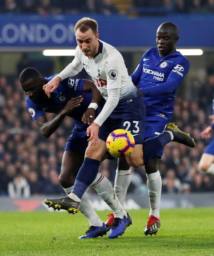 Thủ thành Kepa dự bị, Chelsea thắng hoàn hảo Tottenham - Ảnh 4.