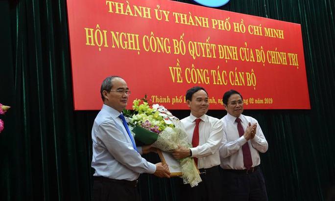 Ông Trần Lưu Quang làm Phó Bí thư Thường trực Thành ủy TP HCM - Ảnh 1.