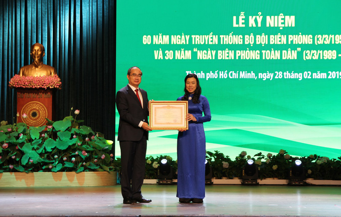 Bí thư Nguyễn Thiện Nhân dự kỷ niệm 60 năm Ngày truyền thống Bộ đội Biên phòng - Ảnh 1.