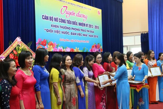 Quảng Nam: Khen thưởng cán bộ nữ công tiêu biểu - Ảnh 5.