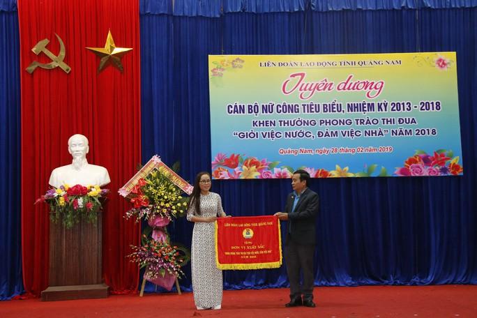 Quảng Nam: Khen thưởng cán bộ nữ công tiêu biểu - Ảnh 3.