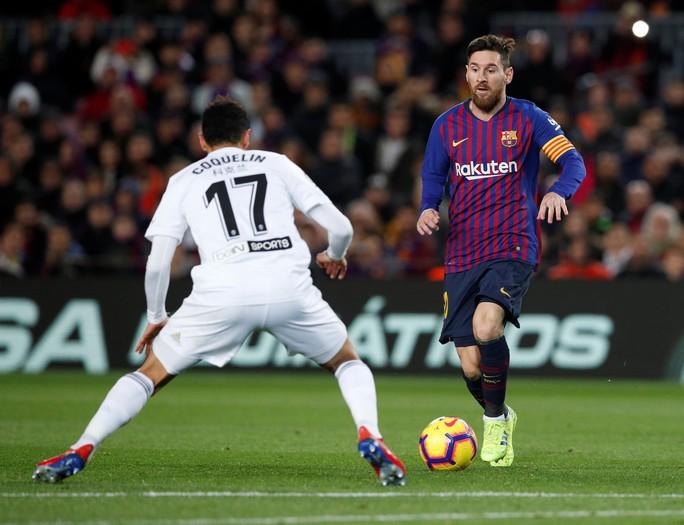 Cú đúp của Messi giúp Barcelona thoát hiểm trước Valencia - Ảnh 3.