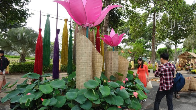 Lục bình, sen lên đường hoa Xuân ở thủ phủ đất Sen hồng Đồng Tháp - Ảnh 20.