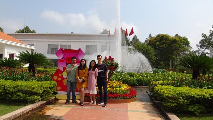 Trụ sở UBND tỉnh Đồng Tháp thân thiện đón khách du Xuân - Ảnh 17.