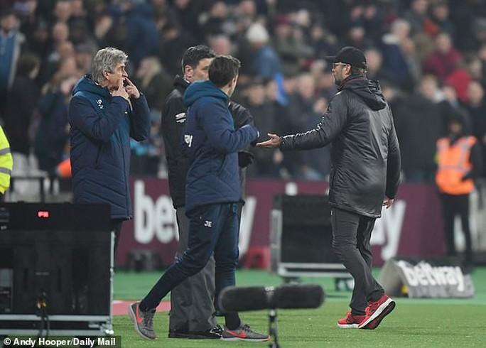 Liverpool bị cầm chân, Klopp nổi nóng với HLV West Ham - Ảnh 2.