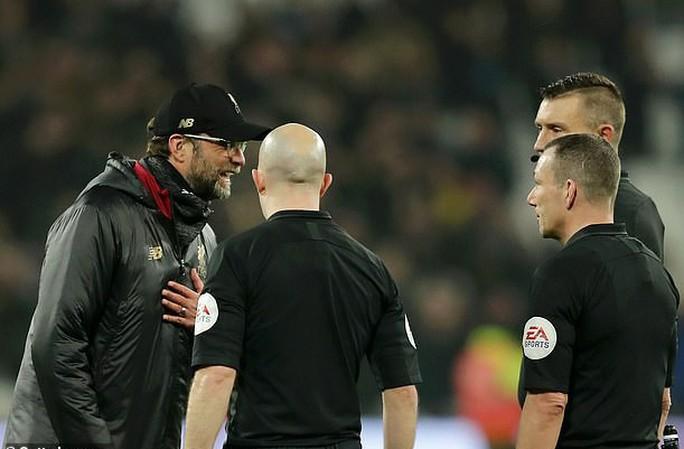 Liverpool bị cầm chân, Klopp nổi nóng với HLV West Ham - Ảnh 3.