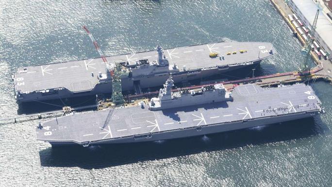 Nhật Bản đặt dấu chấm hết cho 7 thập kỷ không có tàu sân bay - Ảnh 1.