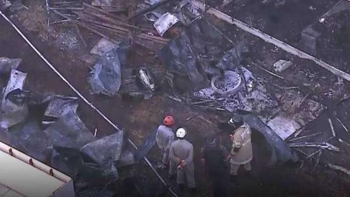 Cháy trung tâm huấn luyện, 10 người thiệt mạng - Ảnh 2.