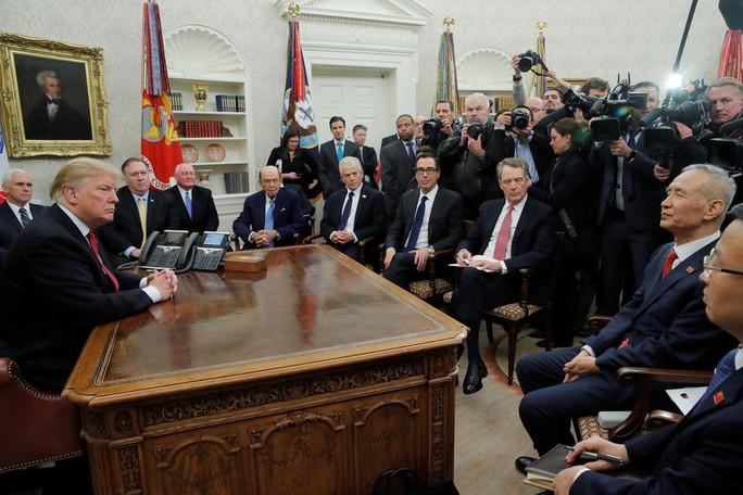 Ông Donald Trump: Không có thượng đỉnh Mỹ - Trung trong tháng này - Ảnh 2.