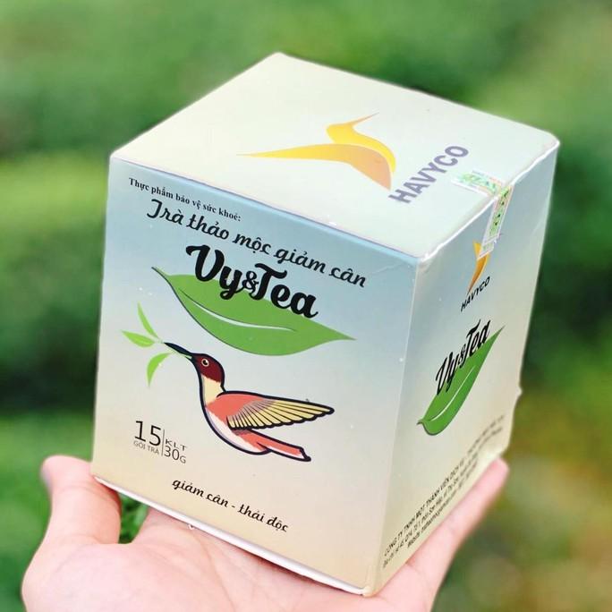 Trà thảo mộc Vy&Tea bị phát hiện có chất cấm khi xuất khẩu sang Hàn Quốc - Ảnh 1.