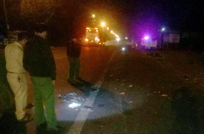 Tai nạn giao thông liên hoàn trên Quốc lộ 20, 3 người thương vong - Ảnh 1.