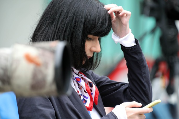 Cận cảnh những nữ phóng viên xinh đẹp tác nghiệp thượng đỉnh Mỹ-Triều - Ảnh 9.