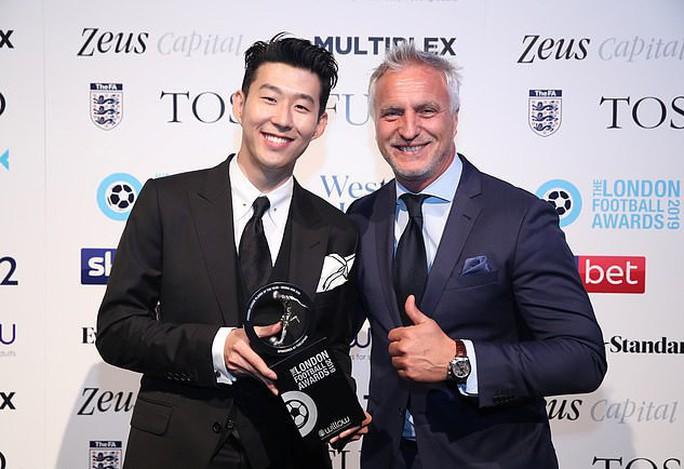 Son Heung-min được vinh danh dù Tottenham hết cửa vô địch - Ảnh 2.