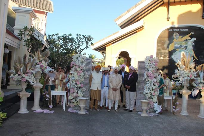 Lộng lẫy lễ cưới chính thức của tỉ phú Ấn Độ tại Phú Quốc - Ảnh 16.