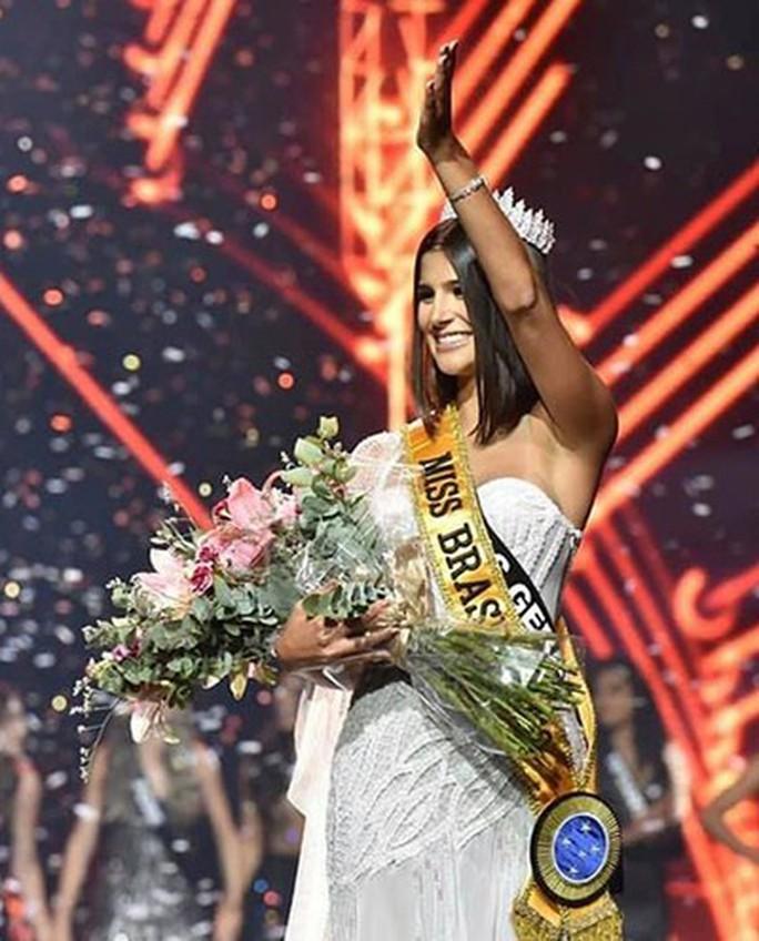 Nhan sắc bốc lửa của tân Hoa hậu Brazil - Ảnh 2.