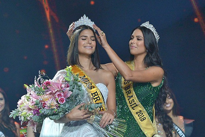 Nhan sắc bốc lửa của tân Hoa hậu Brazil - Ảnh 1.