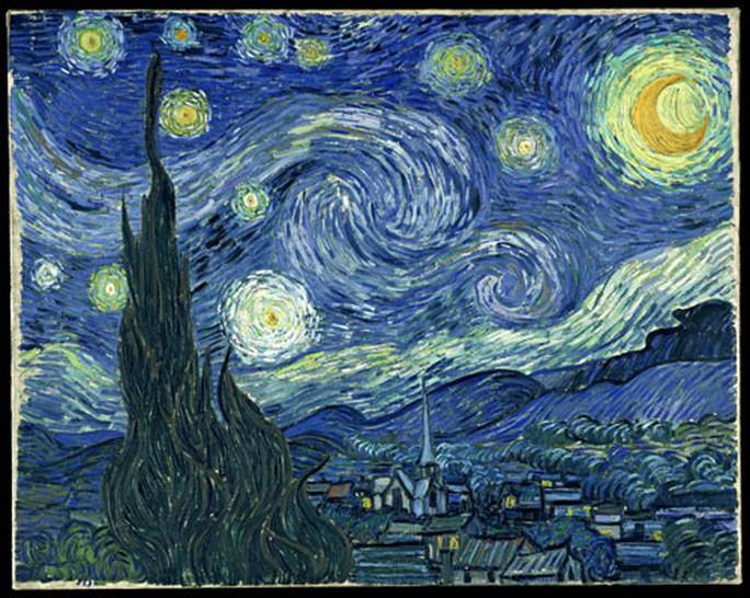 Xem tranh Van Gogh ở Việt Nam - Ảnh 1.