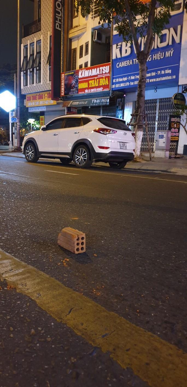 Đà Nẵng: Bị nhắc nhở, 2 nam thanh niên dùng gạch tấn công lực lượng 911 - Ảnh 2.
