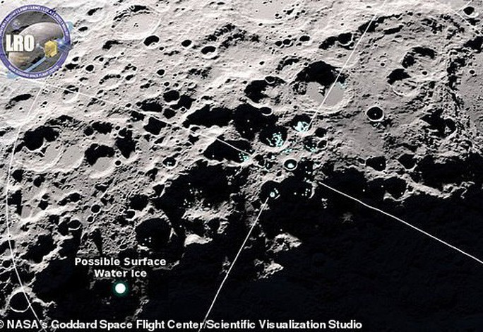 Bất ngờ khi phát hiện nước đang nhảy trên mặt trăng - Ảnh 1.