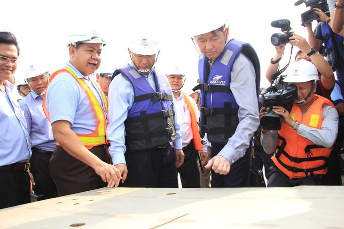 Bí thư Thành ủy TP HCM khảo sát, chỉ đạo liên quan dự án chống ngập 10.000 tỉ đồng - Ảnh 2.