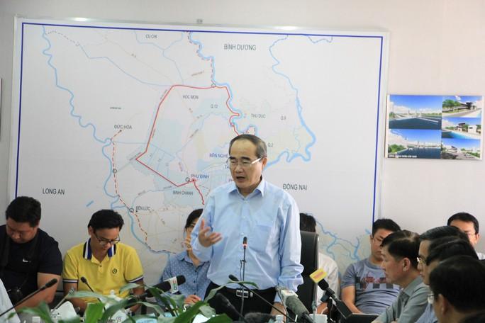 Bí thư Thành ủy TP HCM khảo sát, chỉ đạo liên quan dự án chống ngập 10.000 tỉ đồng - Ảnh 5.